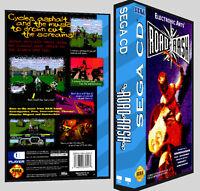 Road Rash - Sega Cd Reproduction Art Dvd Case No Game