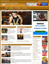 Body Building Website Business For Sale Work From Home Online Business