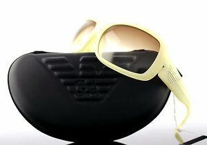 RARE-New-Authentic-EMPORIO-ARMANI-Transparent-Cream-SUNGLASSES-EA-9292-F-S-W9XID