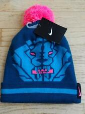 49d50f2ab28 item 3 NEW Youth NIKE LEBRON JAMES Blue BASKETBALL POM BEANIE HAT SIZE 8-20  YOUTH -NEW Youth NIKE LEBRON JAMES Blue BASKETBALL POM BEANIE HAT SIZE 8-20  ...