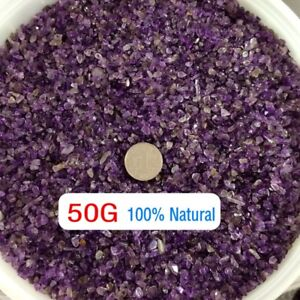 50g-Natural-Mini-Amethyst-Purple-Point-Quartz-Crystal-Stone-Rock-Chips-Healing-z