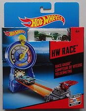 Hot Wheels Race Gauge HW Play Set Car Included Measure Your Speed