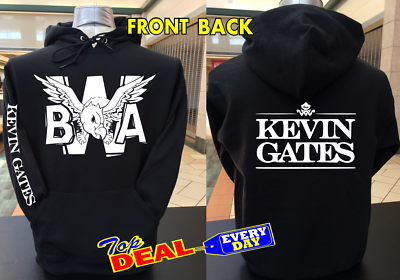 SIZES S-3XL BWA Kevin Gates Logo T-Shirt MEN/'S AND WOMEN/'S