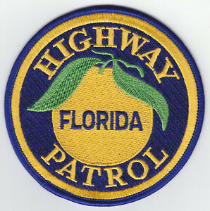 "Florida Highway Patrol ACADEMY mini//hat patch 3/"" FL police FLHP"