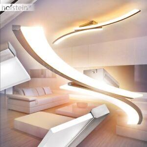 Luxus Decken Leuchte Design LED Wohn Schlaf Zimmer Beleuchtung Flur Dielen Lampe