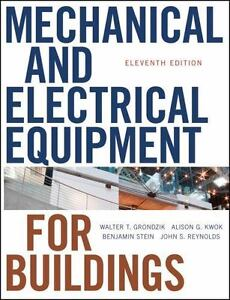Equipment edition for and pdf 11th mechanical electrical buildings
