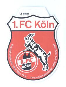 Details Zu 1 Fc Köln Aufkleber Sticker Logo Bundesliga Fussball 413
