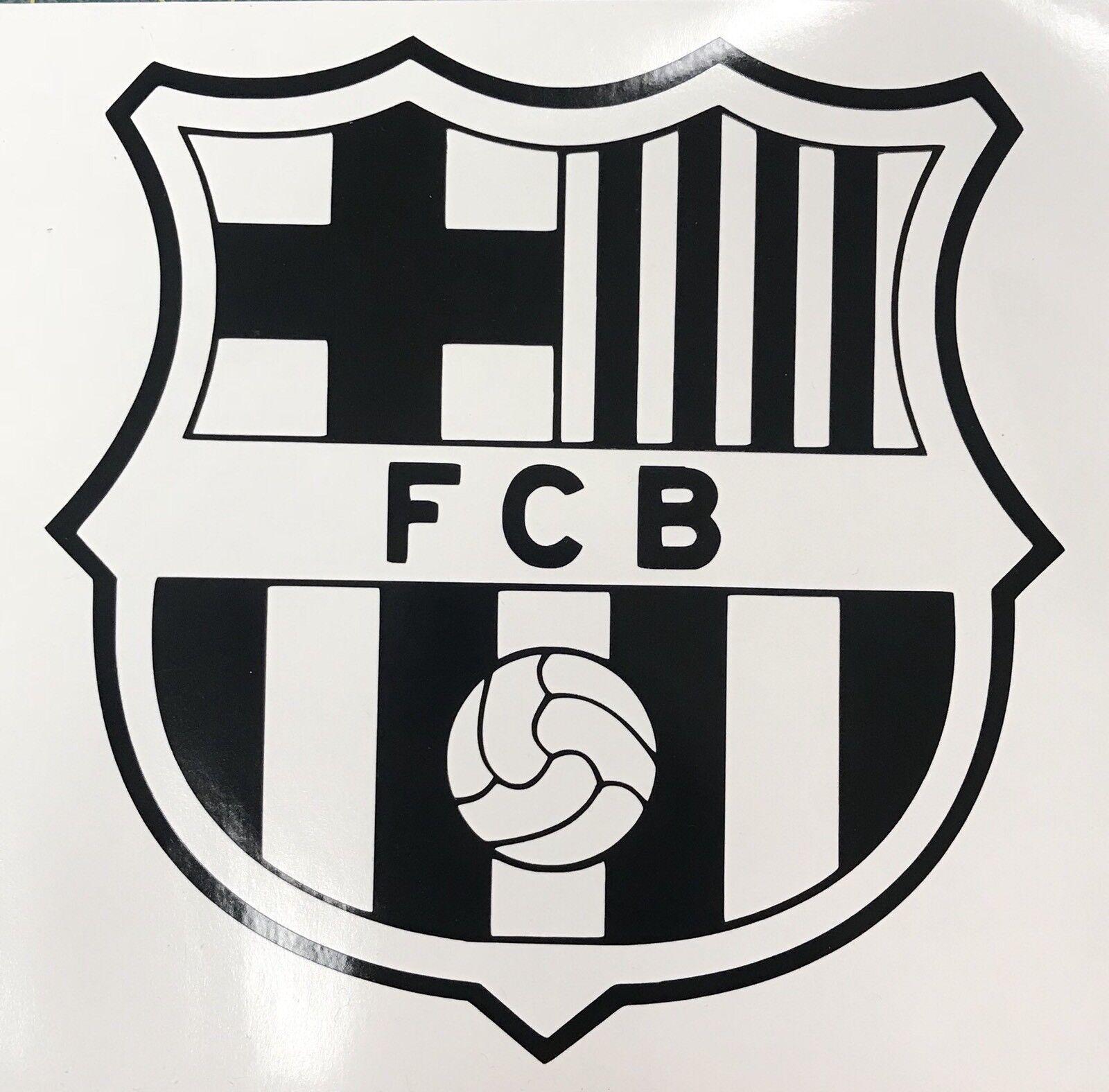 Fc Barcelona Logo Spain Soccer Football Club Vinyl Sticker Decal Car Decoration For Sale Online Ebay