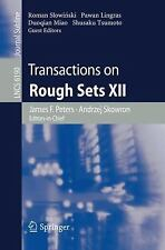 Transactions on Rough Sets XII (Lecture Notes in Computer Science  Transactions