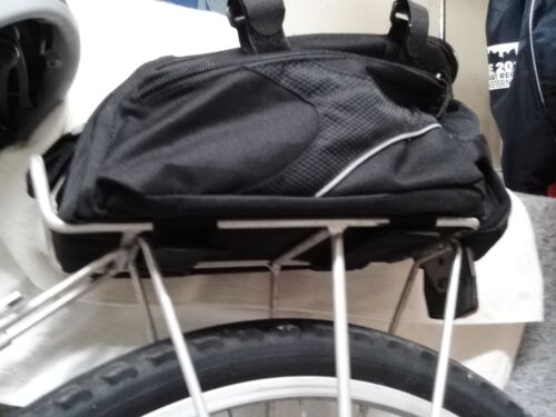 BV Bike Commuter Carrier Bag With Velcro Pump Attachment for sale online  3c36e3a707ff3