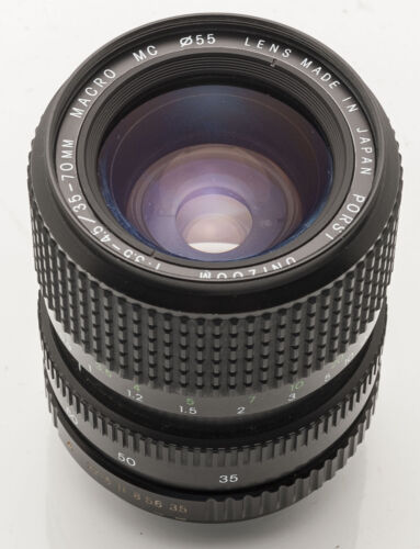 Porst unizoom macro mc 1:3 5-4.5 35-70mm 35-70 mm para porst Fujica