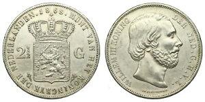 Netherlands-2-Gulden-1868