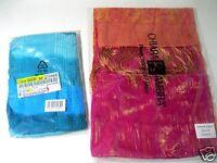 2x Schaltuch neu OVP pink/orange mit Seite Chiara Ambra + aqua türkis/petrol