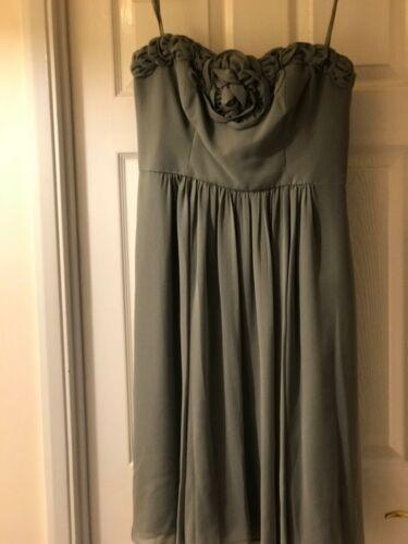 Bridesmaid Dress Occassion debenhams Sage femminile Debutto Green FXORYfxwn