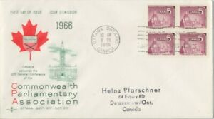 CANADA-1956-Commonwealth-Parliament-Association-addressed-FDC-JD2240