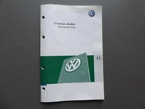 VW-GOLF-MK5-ESTATE-VARIANT-JETTA-2007-STAMPED-SERVICE-BOOK-NO-CAR-DETAILS
