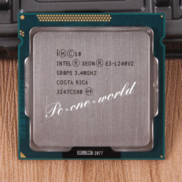 100% OK SR0P5 Intel Xeon E3-1240 V2 3.4 GHz Quad-Core Processor CPU LGA 1155
