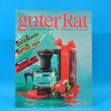 Guter Rat 4-1989 Verlag für die Frau DDR Farbfernseher Color 40 Römertopf WC D