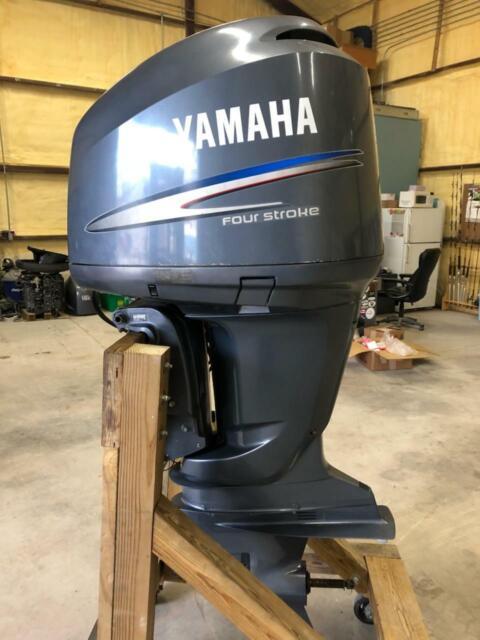 2007 Single Yamaha F250 250 HP OUTBOARD Engine 25
