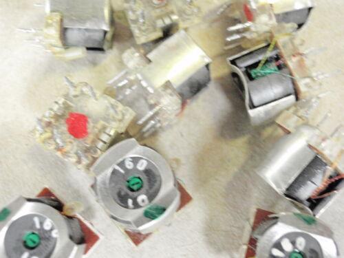 Filtro transformadores ferritschale set con 6 unidades ideal para para aficionados al bricolaje 1312a