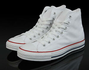 cc3a0fc70f2d Image is loading Converse-White-M7650-Classic-Chuck-Taylor-Sneakers-Trainer-
