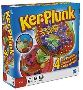 Hasbro-Jeu-Kerplunk-Nerve-Racking-Jeu-De-Competence-4-Jeux-Ker-Plunk