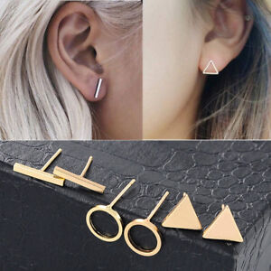 3Pair-Set-Minimalist-Women-Piercing-Punk-Geometric-Ear-Stud-Earrings-Jewelry-New