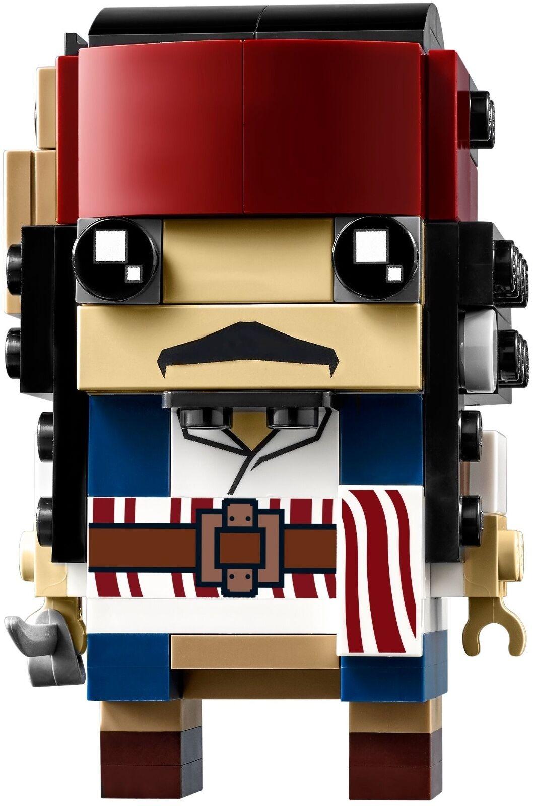 LEGO ® Disney ™ Nº 9 brickheadz 41593 Capitaine Jack Sparrow-NOUVEAU /& NEUF dans sa boîte