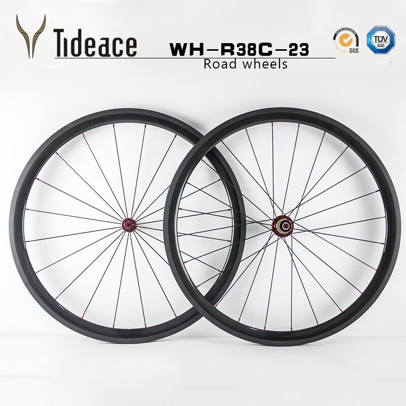3K Glossy Matte T800 Carbon Fiber Road Racing Bike Wheels Clincher Bicycle Rims