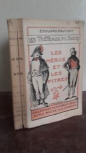1900 E. Drumont Las Caballetes de La Succes Heros Pitres / Pin / Flammarion E. C
