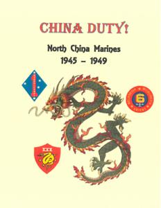 Post-WW-II-Occupation-of-North-China-USMC-Marine-1945-1949-History-Book