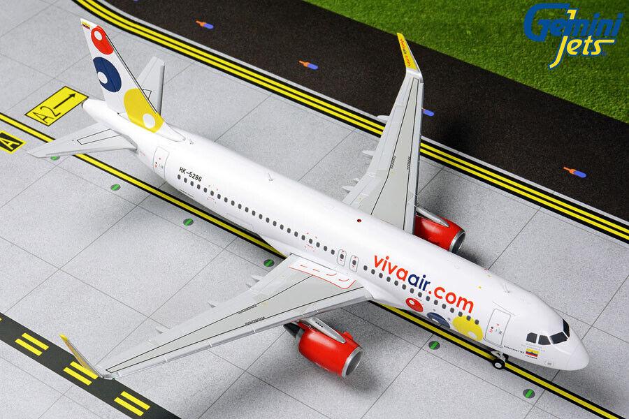 GEMINI JETS VIVAAIR  AIRBUS A320-200(S) A320-200(S) 1 200 DIE-CAST G2VVC822 IN STOCK