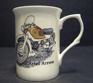 1 ARIEL ARROW MOTORBIKE Fine Bone China Mug Cup