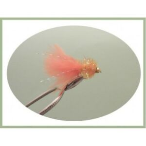 Trout Flies Fishing flies Size 10 Lures,12 Pack Gold head Fritz,Three Colours