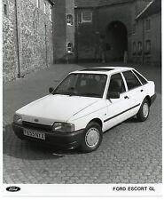 FORD ESCORT GL Press Release FOTOGRAFIA ORIGINALE 1988