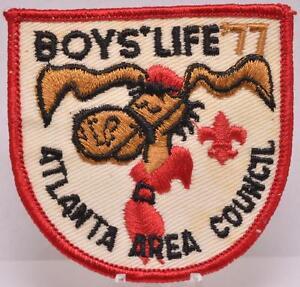 1977-Atlanta-Georgia-Area-Council-Patch-BSA-Boy-Scouts-Boys-Life