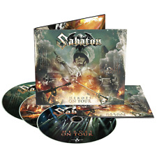 Sabaton Heroes on Tour Deluxe Edition CD 2 DVD 3 Disc Set 2016 NB 3622-7