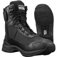 "Original S.W.A.T Men's H.A.W.K. 9"" SIDE-ZIP EN 165231 Black Tactical Boots - NEW"