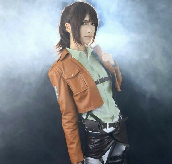 Attack on Titan Jacket Scouting Legion Cosplay Embroidery Jacket Pu leather Coat