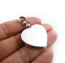 Amor corazón 925 Medallón Estilo Forjado a mano en una bolsa de regalo gota colgante