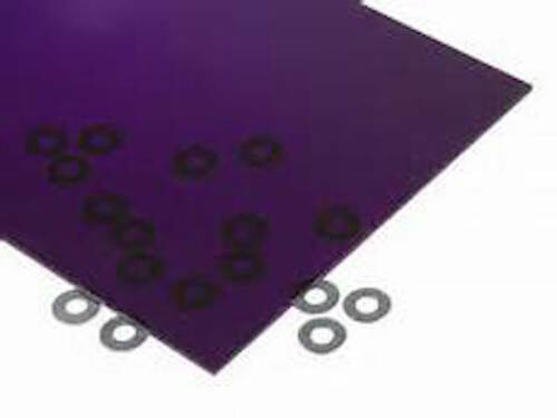 "Purple Transparent Acrylic Plexiglass sheet 1//8/"" x 6/"" x 12/"" #3073"