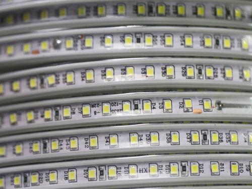 5 M 600x2835 Warmweiss DEL Strip Bande 4000 lm étanche DEL variateur 230 V