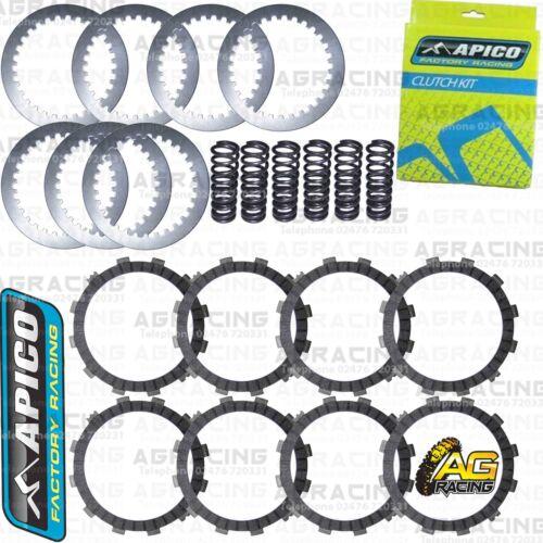 Apico Clutch Kit Steel Friction Plates /& Springs For Yamaha YZF 450 2012 MotoX