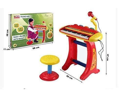 PIANO KID CON SGABELLO