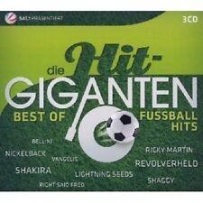 DIE HIT GIGANTEN-BEST OF FUßBALLHITS 3 CD SHAKIRA DJ ÖTZI MICKIE KRAUSE+++++NEU