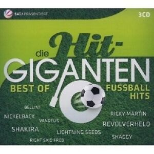 Le-hit-geants-Best-of-fusballhits-3-CD-shakira-DJ-otzi-Mickie-Krause-NEUF
