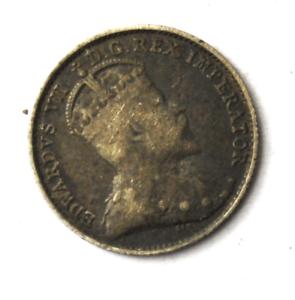 1903-Canada-5c-Five-Cents-Silver-Coin-Half-Dime-KM-13