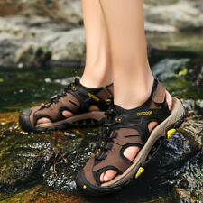 b58603f22572 item 2 Men s Sports Sandals Trail Fisherman Water Shoes 3Layer Toecap  Athletic Leather -Men s Sports Sandals Trail Fisherman Water Shoes 3Layer  Toecap ...
