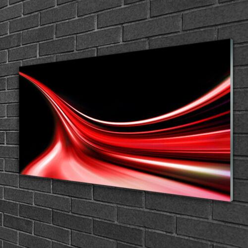 Glasbilder 100x50 Wandbild Druck auf Glas Abstrakte Linien Kunst