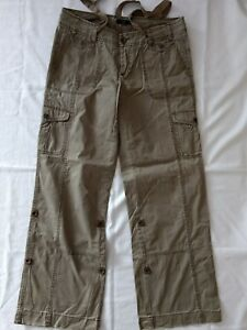99a4b5b9cd Women's Charcoal Cargo Pants Size 10 by Express, Pre-Owned! | eBay